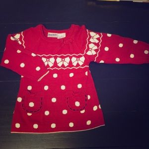 Other - 2T Blueberi red sweater